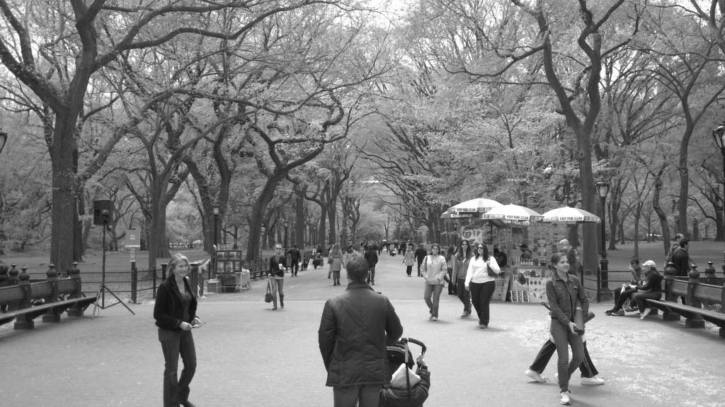 Kathy Hunt in Central Park